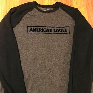 Men's AE L/S Henley size XL